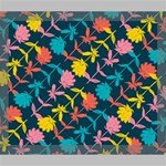 Colorful Floral Pattern Deluxe Canvas 24  x 20   24  x 20  x 1.5  Stretched Canvas
