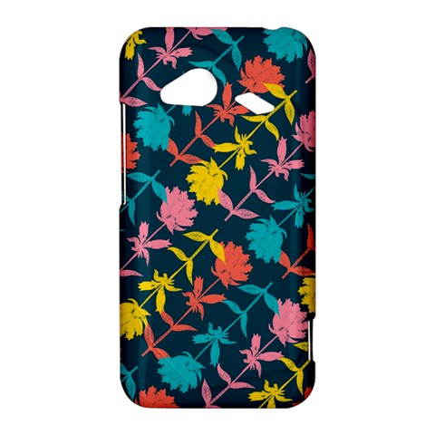 Colorful Floral Pattern HTC Droid Incredible 4G LTE Hardshell Case