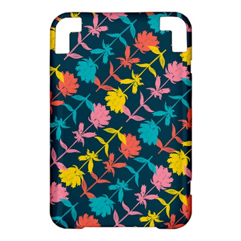 Colorful Floral Pattern Kindle 3 Keyboard 3G