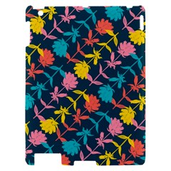 Colorful Floral Pattern Apple iPad 2 Hardshell Case