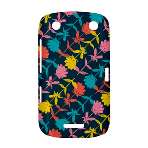 Colorful Floral Pattern BlackBerry Curve 9380