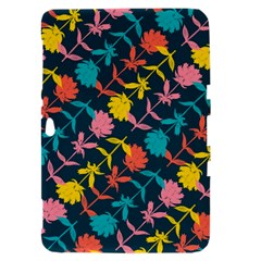 Colorful Floral Pattern Samsung Galaxy Tab 8.9  P7300 Hardshell Case