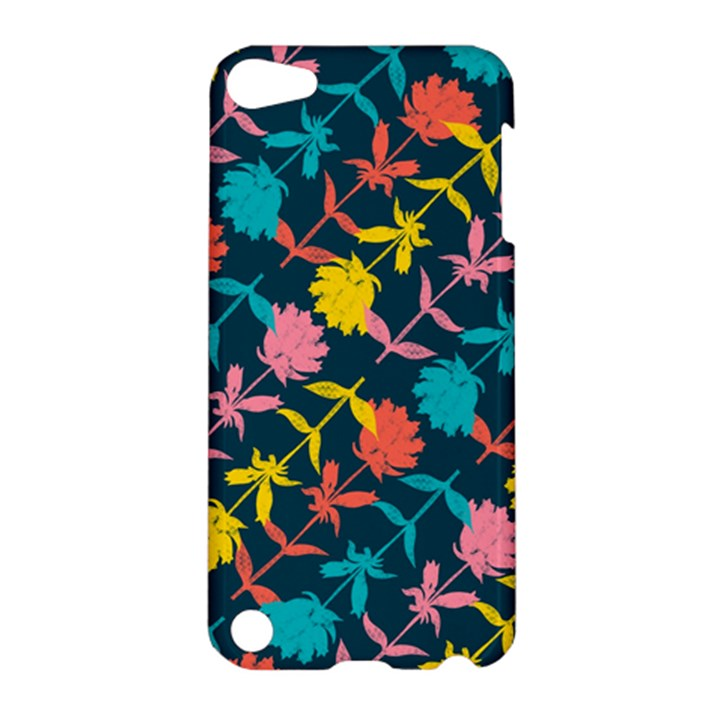 Colorful Floral Pattern Apple iPod Touch 5 Hardshell Case