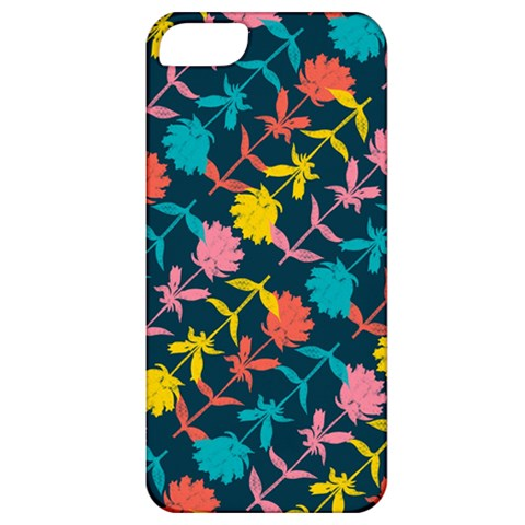 Colorful Floral Pattern Apple iPhone 5 Classic Hardshell Case