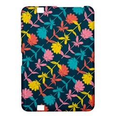 Colorful Floral Pattern Kindle Fire Hd 8 9