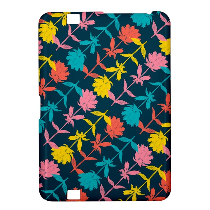 Colorful Floral Pattern Kindle Fire HD 8.9