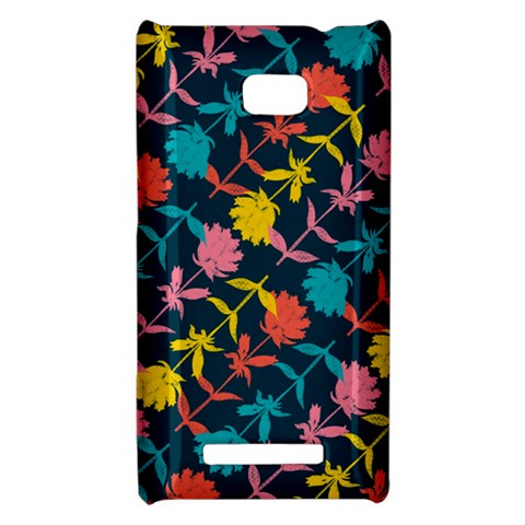 Colorful Floral Pattern HTC 8X