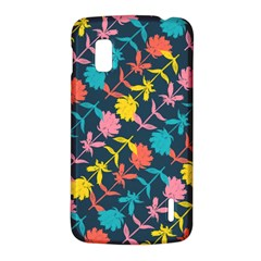 Colorful Floral Pattern LG Nexus 4