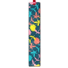 Colorful Floral Pattern Large Book Marks