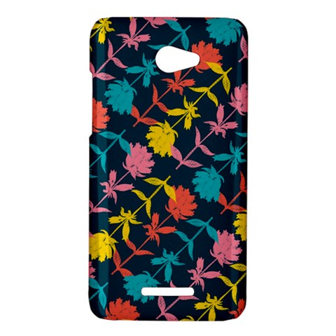Colorful Floral Pattern HTC Butterfly X920E Hardshell Case