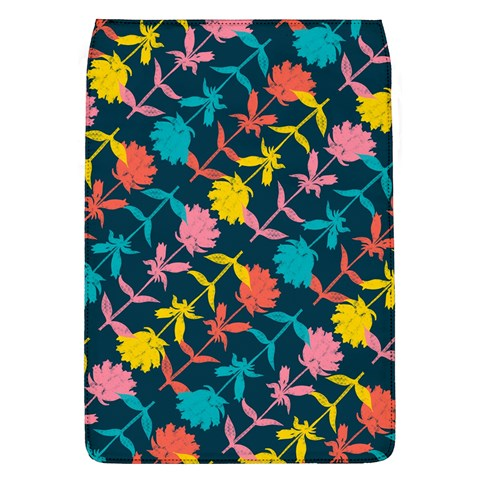 Colorful Floral Pattern Flap Covers (L)