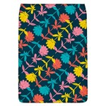Colorful Floral Pattern Flap Covers (L)  Front