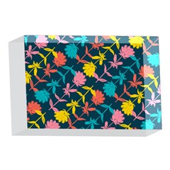 Colorful Floral Pattern 4 x 6  Acrylic Photo Blocks