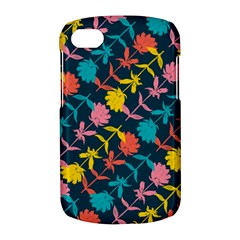 Colorful Floral Pattern BlackBerry Q10