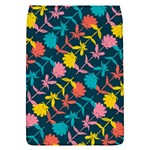 Colorful Floral Pattern Flap Covers (S)  Front