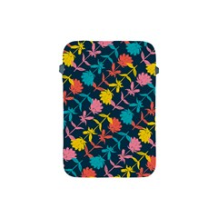 Colorful Floral Pattern Apple Ipad Mini Protective Soft Cases