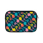Colorful Floral Pattern Apple iPad Mini Zipper Cases Front