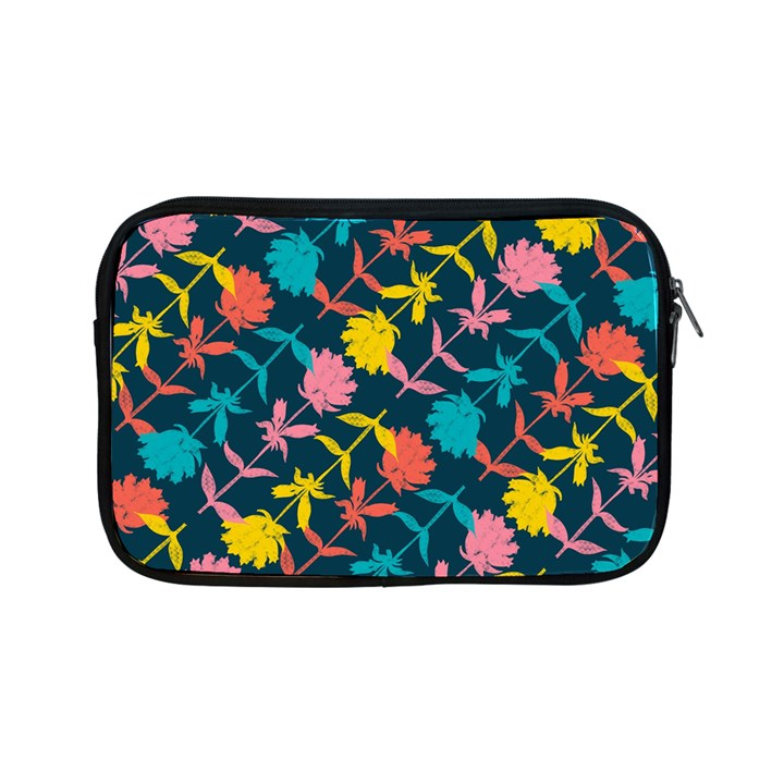 Colorful Floral Pattern Apple iPad Mini Zipper Cases