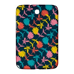 Colorful Floral Pattern Samsung Galaxy Note 8 0 N5100 Hardshell Case