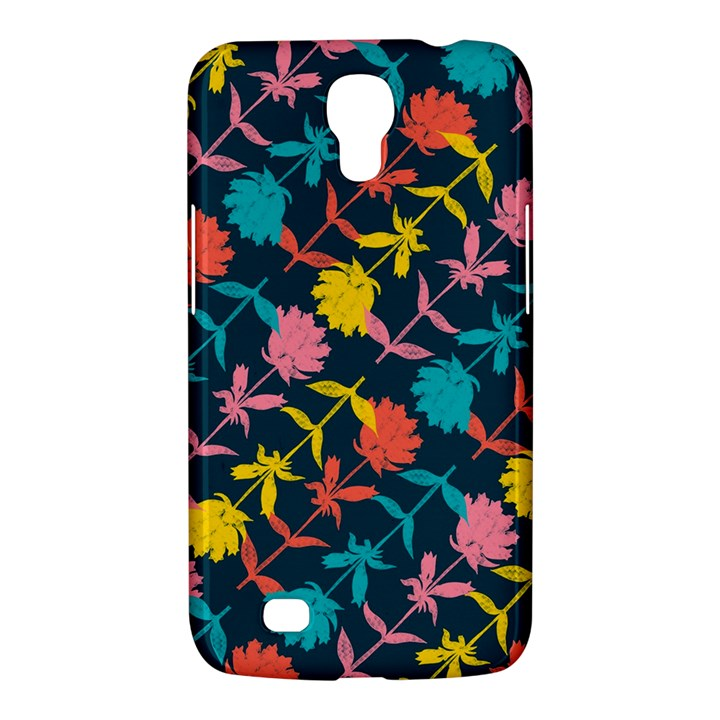 Colorful Floral Pattern Samsung Galaxy Mega 6.3  I9200 Hardshell Case