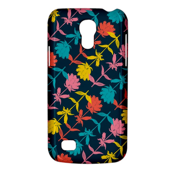 Colorful Floral Pattern Galaxy S4 Mini