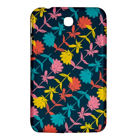 Colorful Floral Pattern Samsung Galaxy Tab 3 (7 ) P3200 Hardshell Case