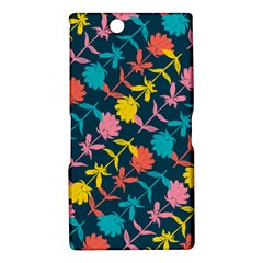 Colorful Floral Pattern Sony Xperia Z Ultra