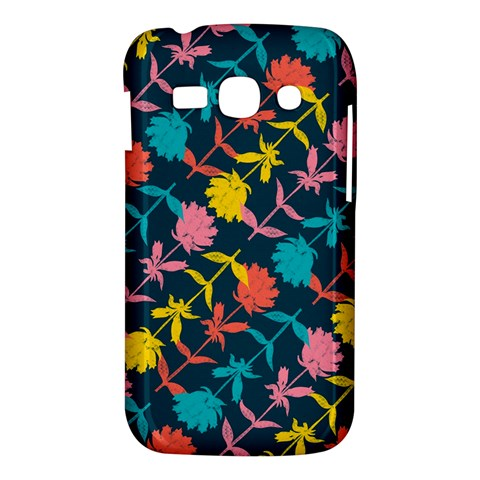 Colorful Floral Pattern Samsung Galaxy Ace 3 S7272 Hardshell Case