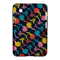 Colorful Floral Pattern Samsung Galaxy Tab 2 (7 ) P3100 Hardshell Case