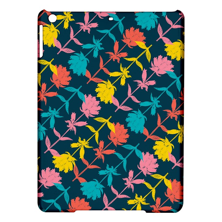 Colorful Floral Pattern iPad Air Hardshell Cases