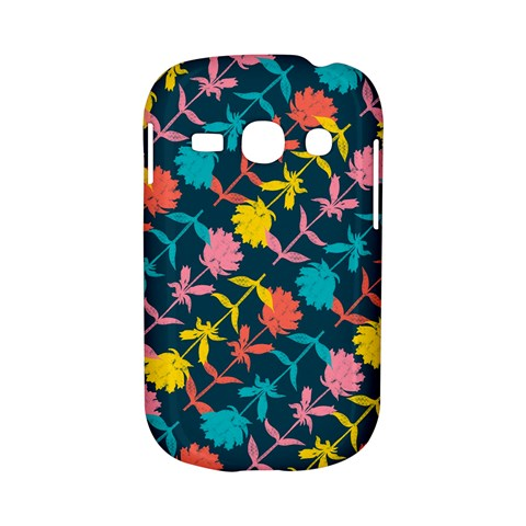 Colorful Floral Pattern Samsung Galaxy S6810 Hardshell Case