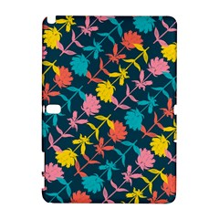 Colorful Floral Pattern Samsung Galaxy Note 10 1 (p600) Hardshell Case