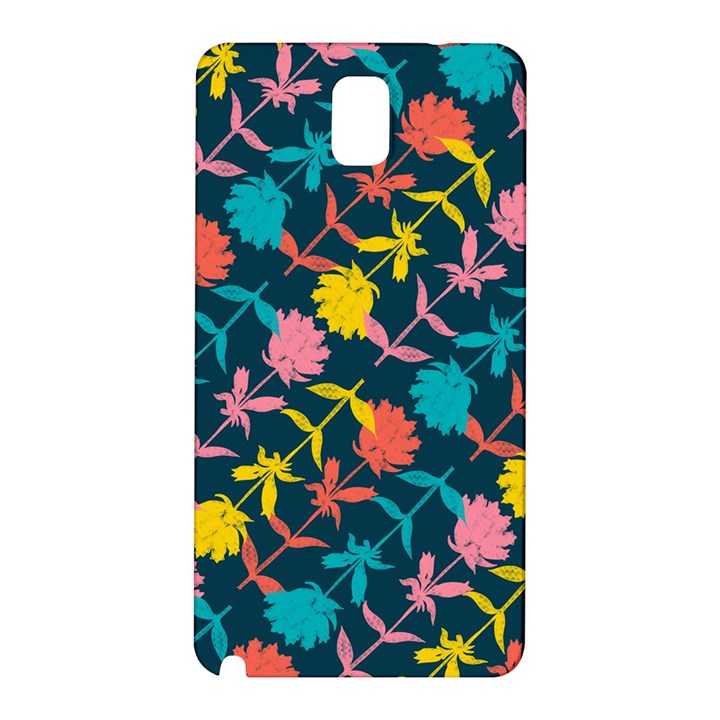 Colorful Floral Pattern Samsung Galaxy Note 3 N9005 Hardshell Back Case