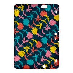 Colorful Floral Pattern Kindle Fire Hdx 8 9  Hardshell Case