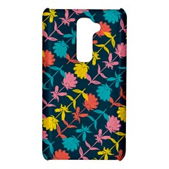 Colorful Floral Pattern LG G2