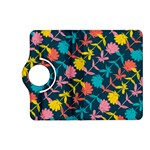 Colorful Floral Pattern Kindle Fire HD (2013) Flip 360 Case Front