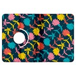 Colorful Floral Pattern Kindle Fire HDX Flip 360 Case Front