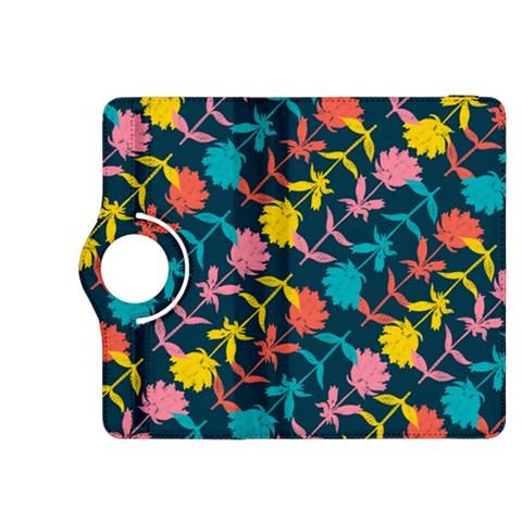Colorful Floral Pattern Kindle Fire HDX 8.9  Flip 360 Case