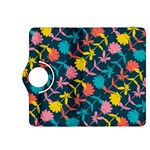 Colorful Floral Pattern Kindle Fire HDX 8.9  Flip 360 Case Front