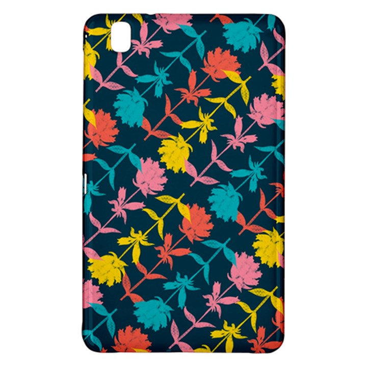Colorful Floral Pattern Samsung Galaxy Tab Pro 8.4 Hardshell Case