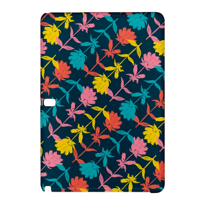Colorful Floral Pattern Samsung Galaxy Tab Pro 12.2 Hardshell Case