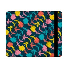 Colorful Floral Pattern Samsung Galaxy Tab Pro 8 4  Flip Case