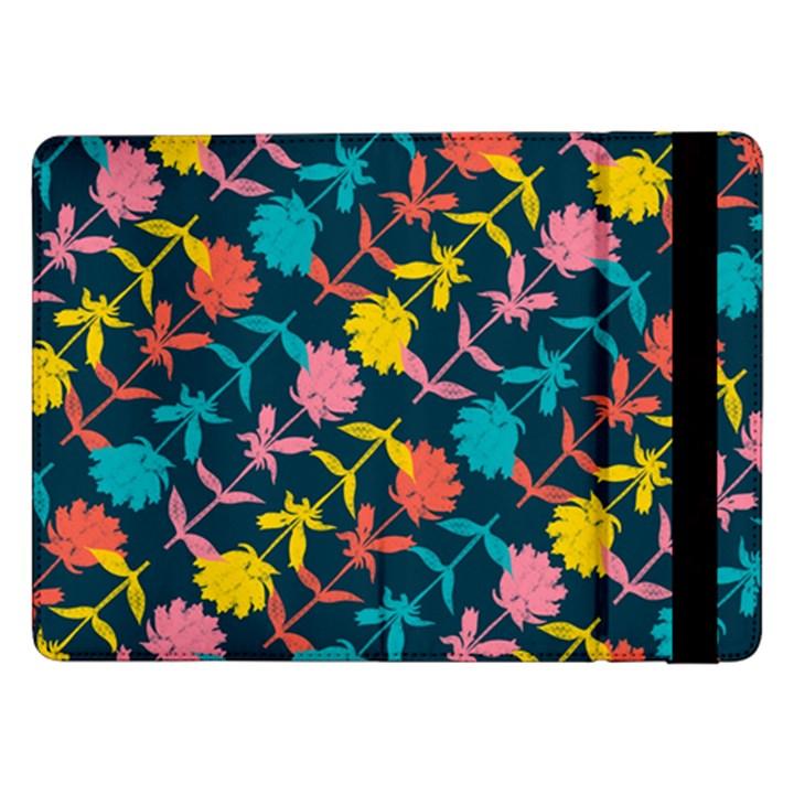 Colorful Floral Pattern Samsung Galaxy Tab Pro 12.2  Flip Case