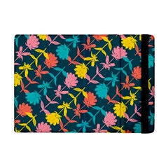 Colorful Floral Pattern iPad Mini 2 Flip Cases