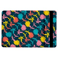 Colorful Floral Pattern Ipad Air Flip