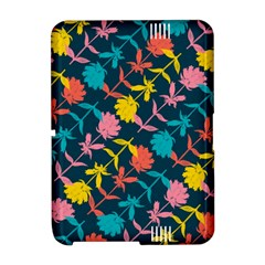 Colorful Floral Pattern Amazon Kindle Fire (2012) Hardshell Case