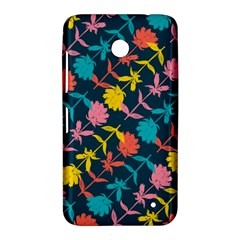 Colorful Floral Pattern Nokia Lumia 630