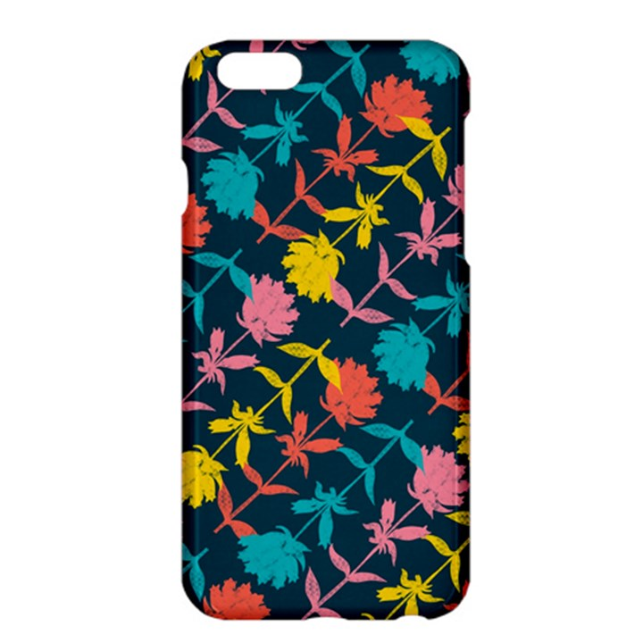 Colorful Floral Pattern Apple iPhone 6 Plus/6S Plus Hardshell Case