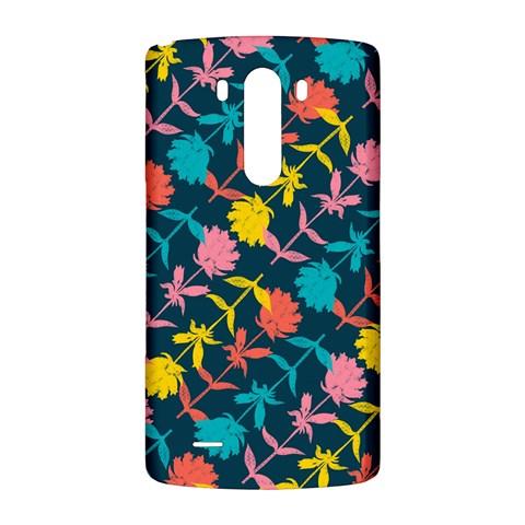 Colorful Floral Pattern LG G3 Back Case