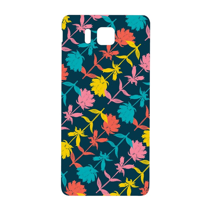 Colorful Floral Pattern Samsung Galaxy Alpha Hardshell Back Case